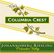 Columbia Crest Johannisberg Riesling 2000 Front Label