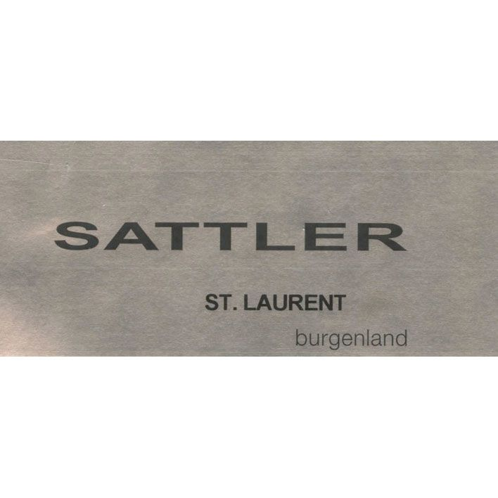 Sattler St. Laurent 2015 Front Label