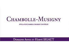 Domaine Anne et Herve Sigaut Chambolle-Musigny 2013 Front Label