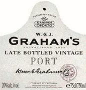 Graham's Late Bottled Vintage 1995 Front Label