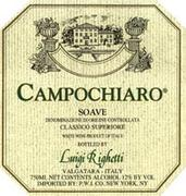 Righetti Campochiaro Soave 1998 Front Label