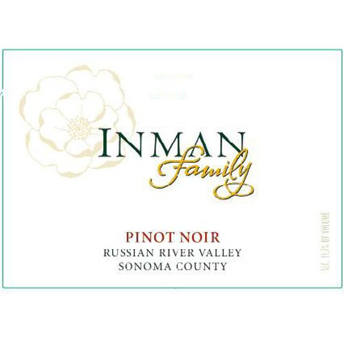 Inman Family Russian River Pinot Noir 2016 Front Label