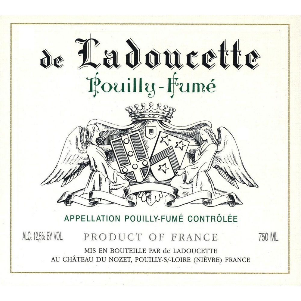 Ladoucette Pouilly-Fume (375ML half-bottle) 2014 Front Label