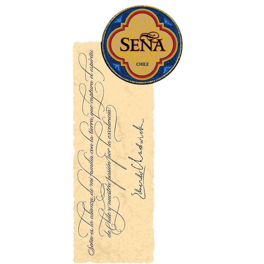 Sena  2014 Front Label