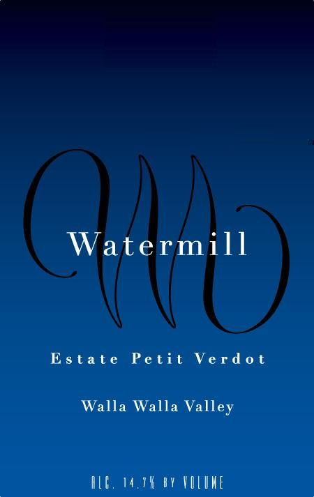 Watermill Estate Petit Verdot 2012 Front Label
