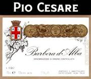 Pio Cesare Barbera 1998 Front Label