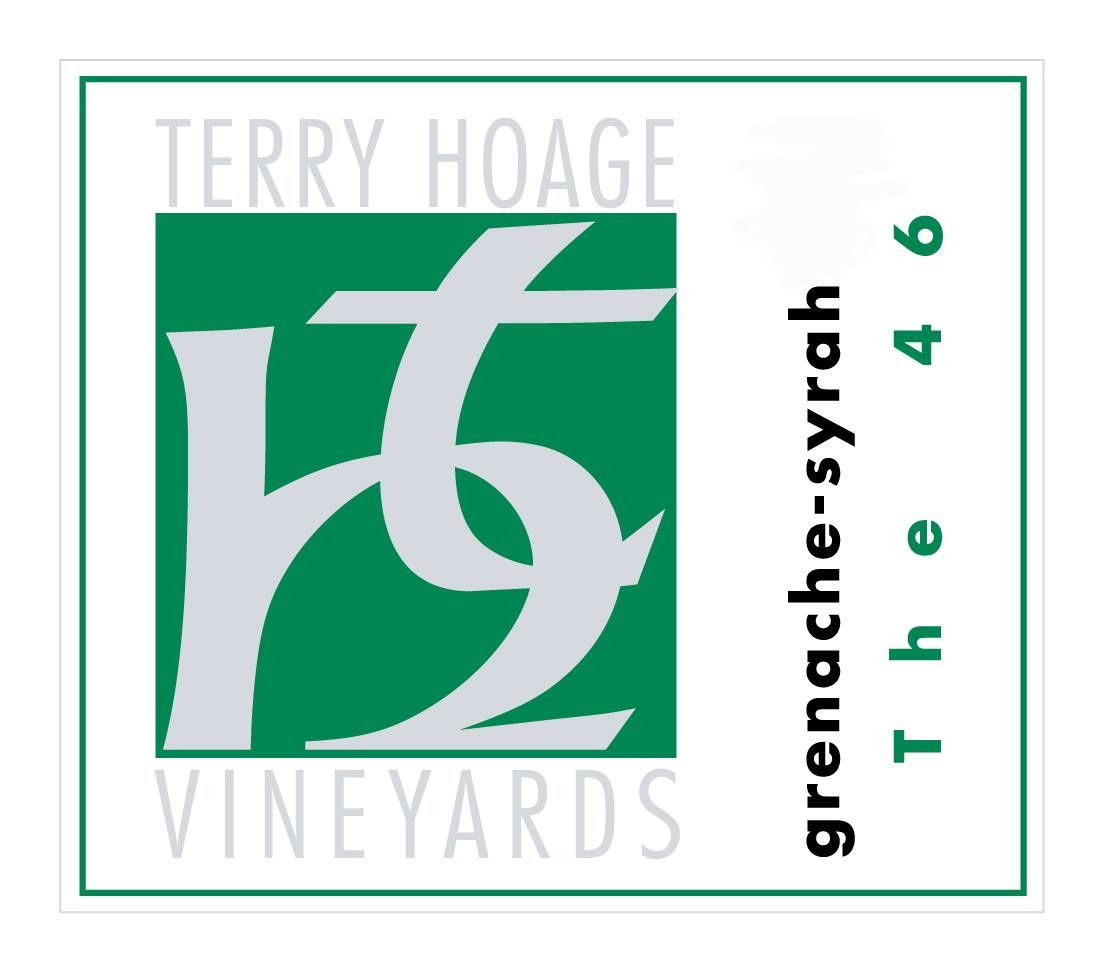 Terry Hoage The 46 Grenache - Syrah 2012  Front Label
