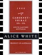 Alice White Cabernet-Shiraz Blend 2000 Front Label