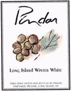 Pindar Long Island Winter White Front Label