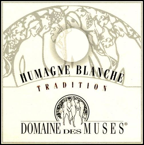 Domaine des Muses Humagne Blanche Tradition 2006 Front Label