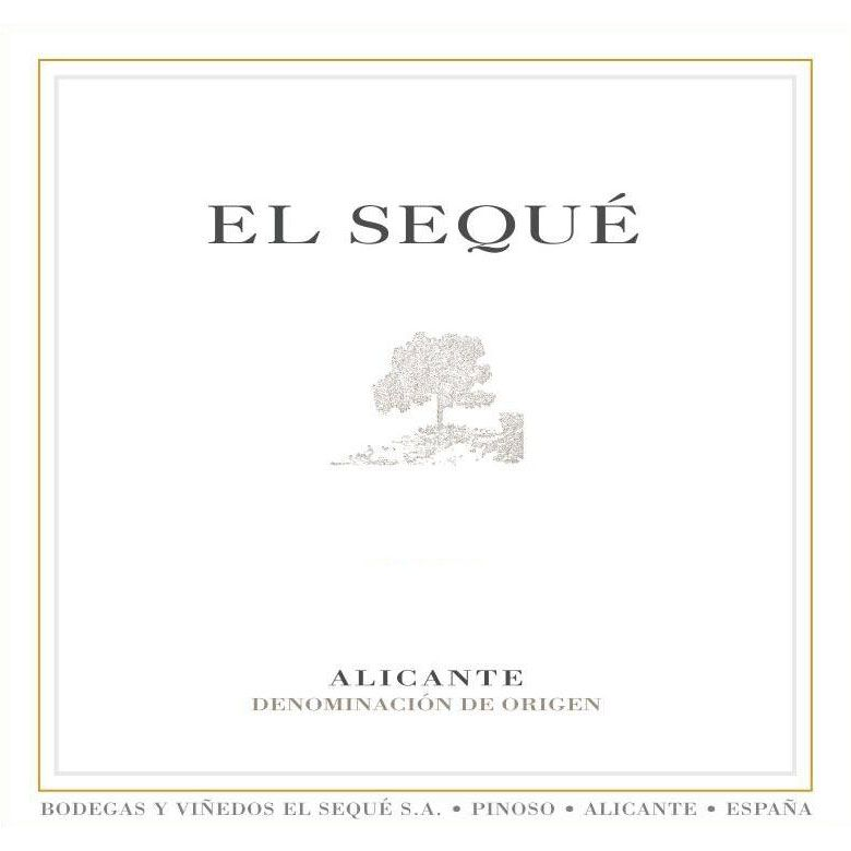 El Seque Alicante Tinto 2012 Front Label