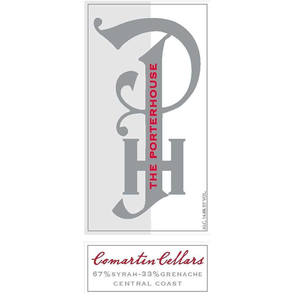 Comartin Cellars The Porterhouse 2013 Front Label