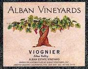 Alban Estate Viognier 1999 Front Label