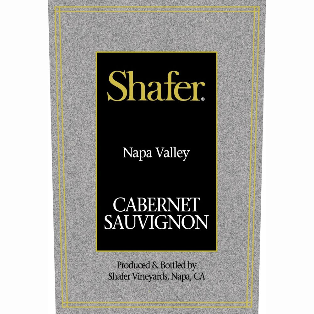 Shafer Napa Valley Cabernet Sauvignon 1998 Front Label
