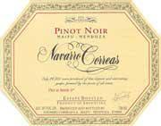 Navarro Correas Pinot Noir 1997 Front Label