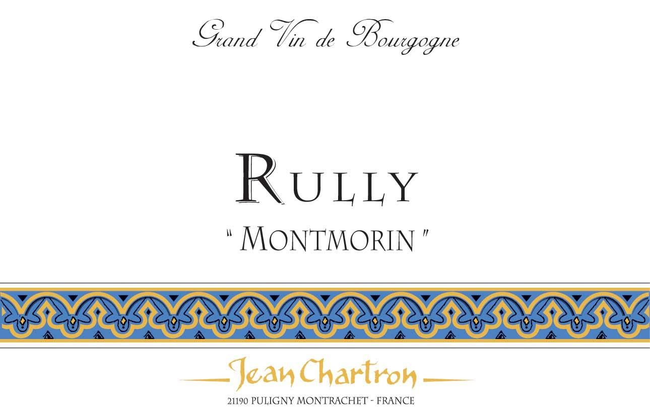 Domaine Jean Chartron Rully Montmorin 2014 Front Label
