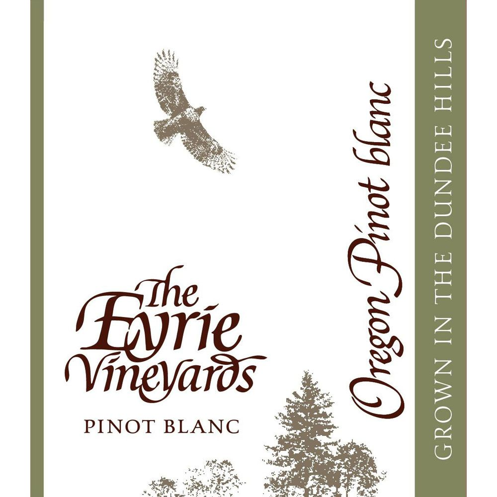 Eyrie Pinot Blanc 2012 Front Label