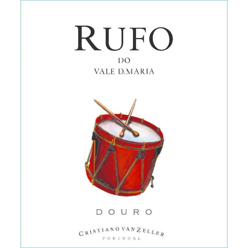 Quinta Vale D. Maria Rufo Red 2011 Front Label