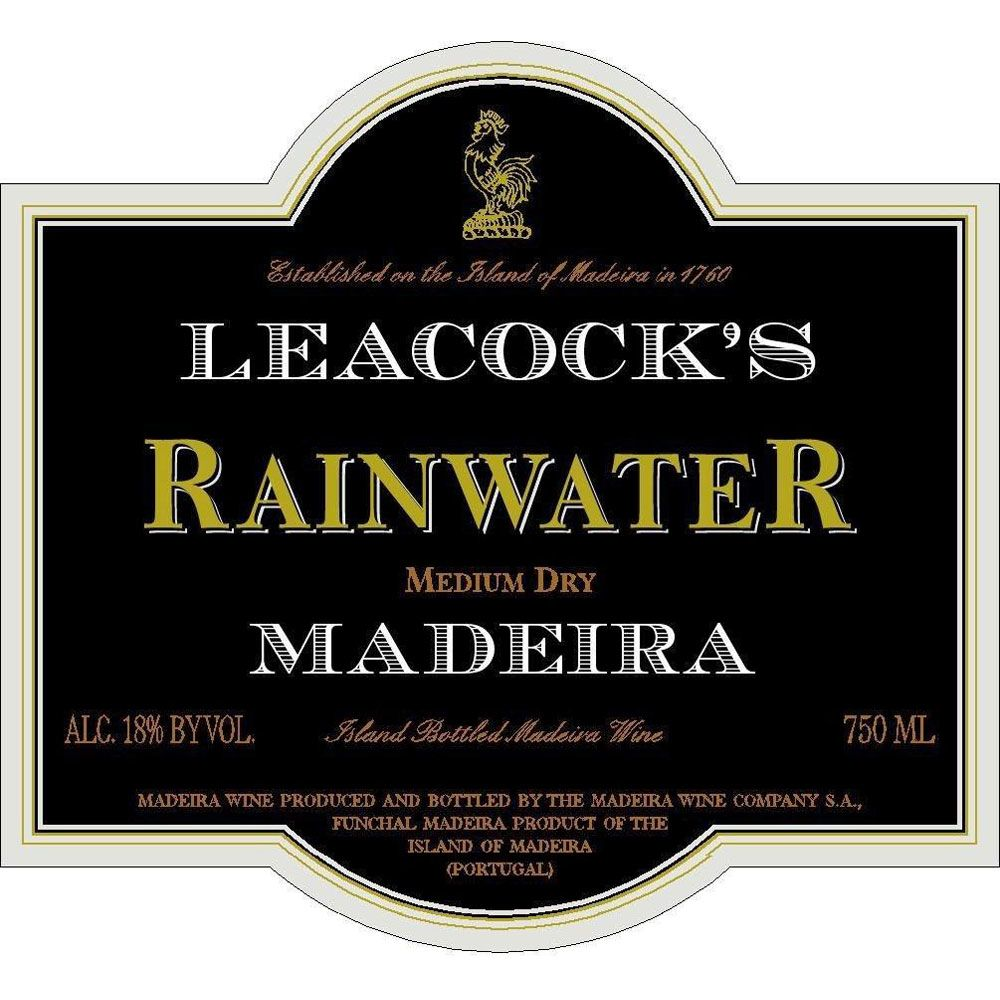 Leacock's Rainwater Madeira Front Label