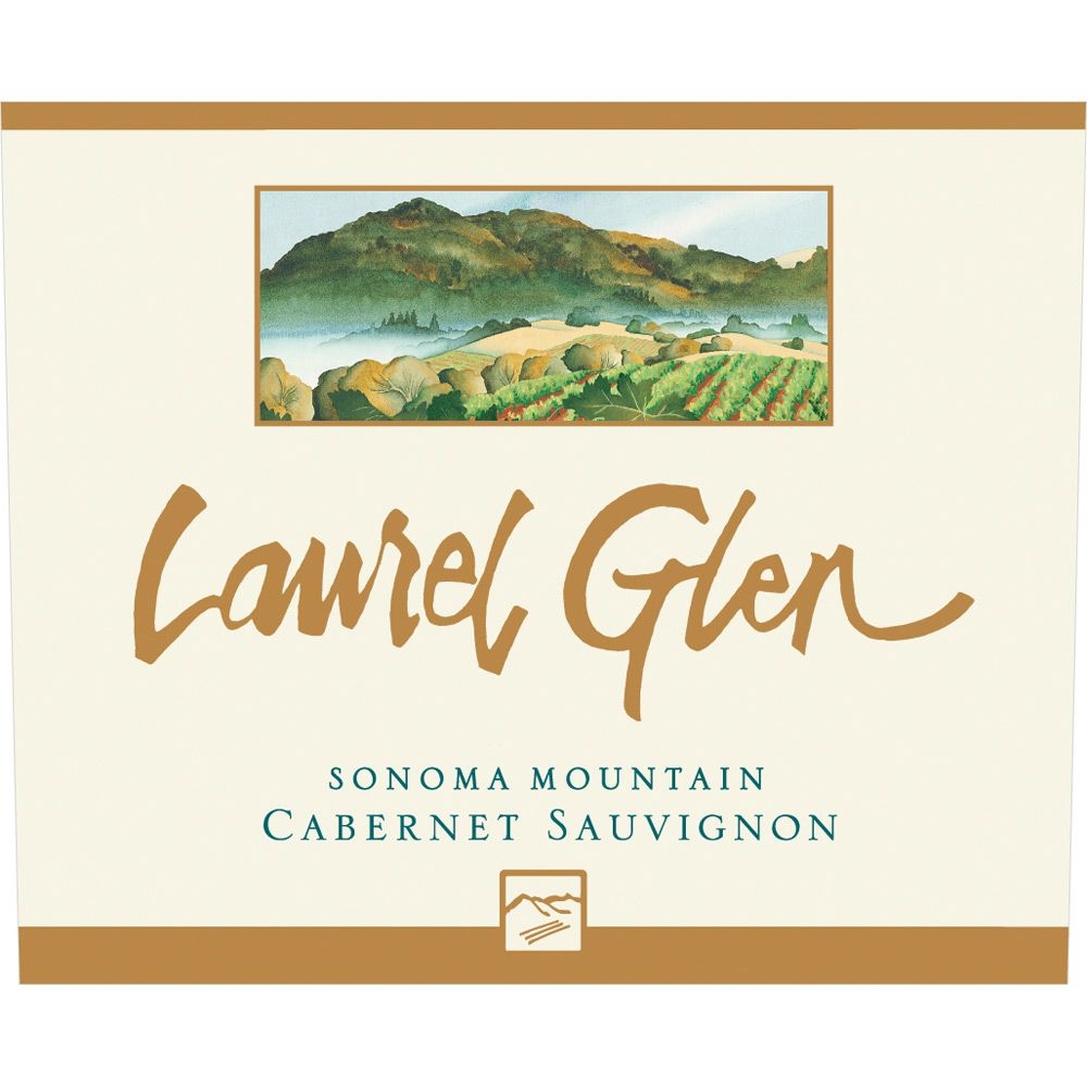Laurel Glen Sonoma Mountain Estate Cabernet Sauvignon 1997 Front Label