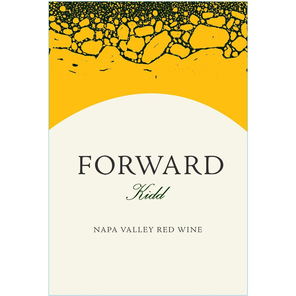Merryvale Forward Kidd Red Wine 2013 Front Label