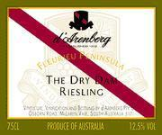 d'Arenberg The Dry Dam Riesling 1996 Front Label