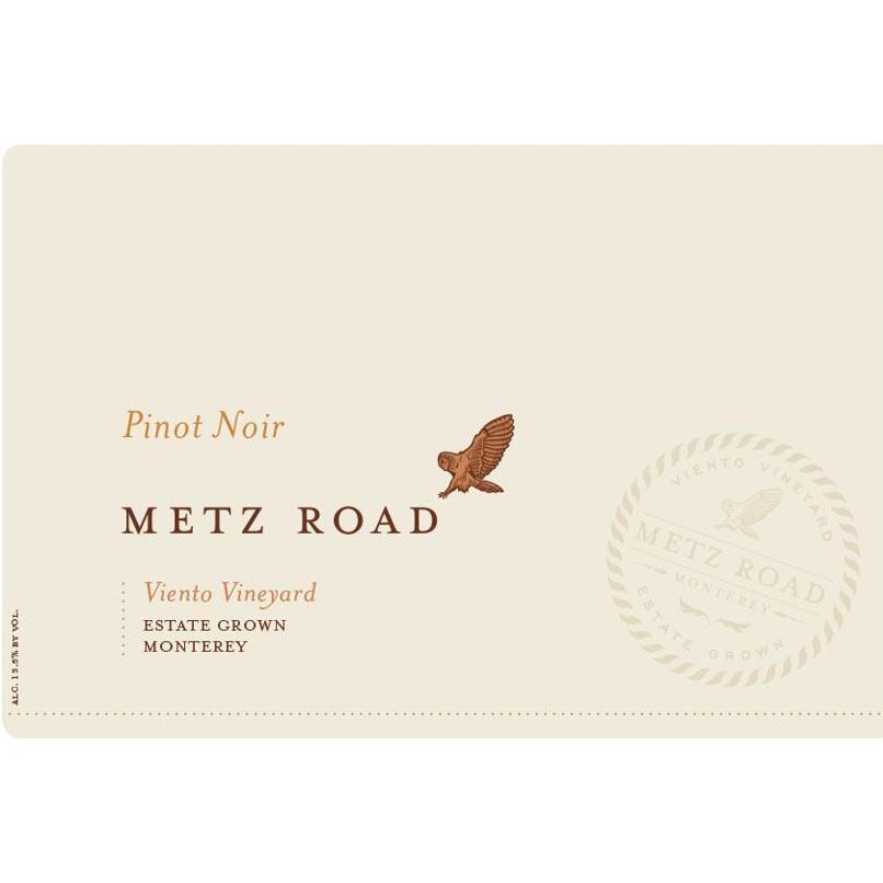 Metz Road Pinot Noir 2015 Front Label