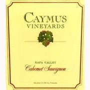 Caymus Napa Valley Cabernet Sauvignon (bin soiled) 1996 Front Label