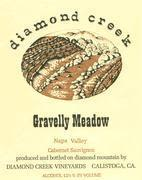 Diamond Creek Gravelly Meadow Cabernet Sauvignon 1984 Front Label
