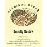 Diamond Creek Gravelly Meadow Cabernet Sauvignon 1997 Front Label