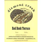 Diamond Creek Red Rock Terrace Cabernet Sauvignon 1985 Front Label