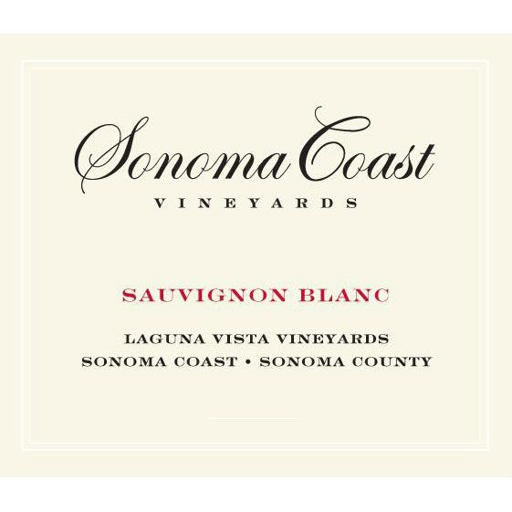 Sonoma Coast Vineyards Laguna Vista Sauvignon Blanc 2015 Front Label