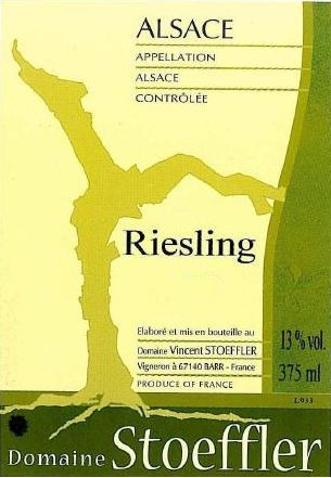 Domaine Stoeffler Riesling 2008 Front Label
