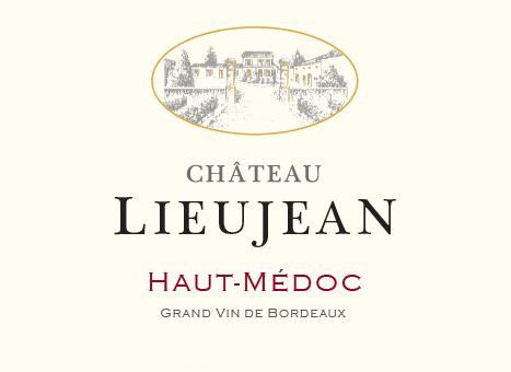 Domaines Lapalu Chateau Lieujean 2008 Front Label