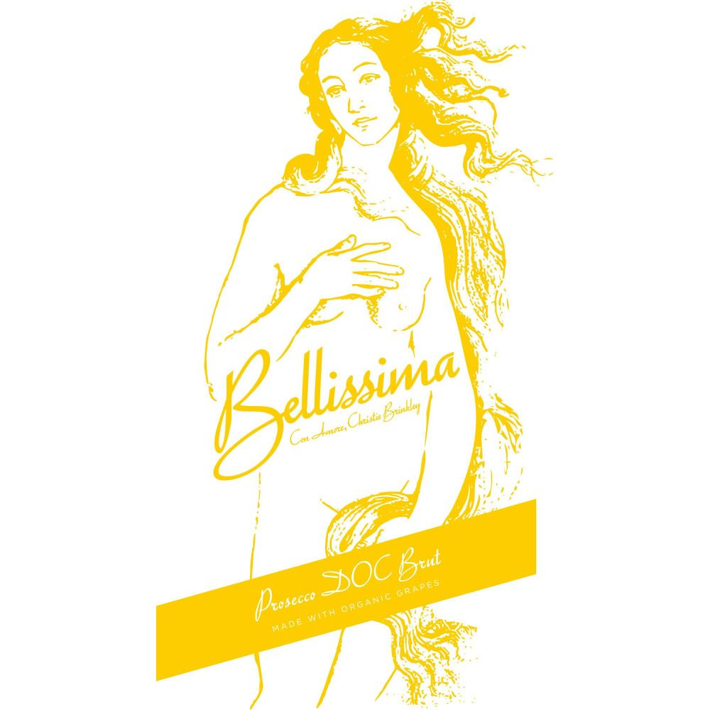 Bellissima Prosecco Brut Front Label