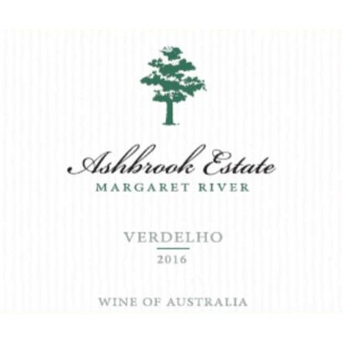 Ashbrook Estate Verdelho 2016 Front Label