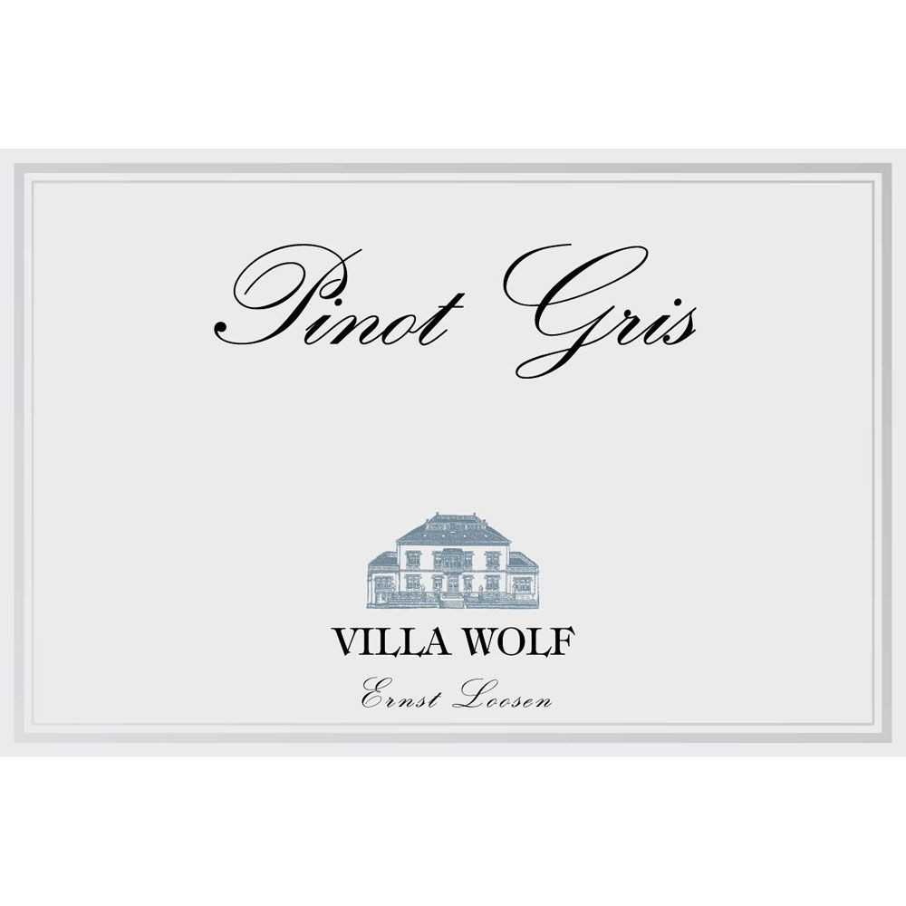 Villa Wolf Pinot Gris 2014 Front Label