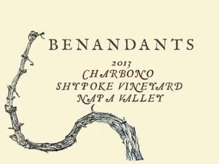 Arbe Garbe Benandants Shypoke Vineyard Charbono 2013 Front Label