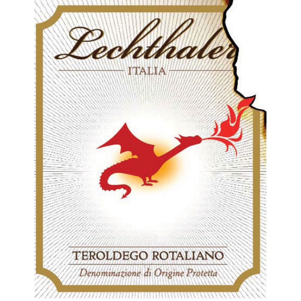Lechthaler Teroldego Rotaliano 2015 Front Label