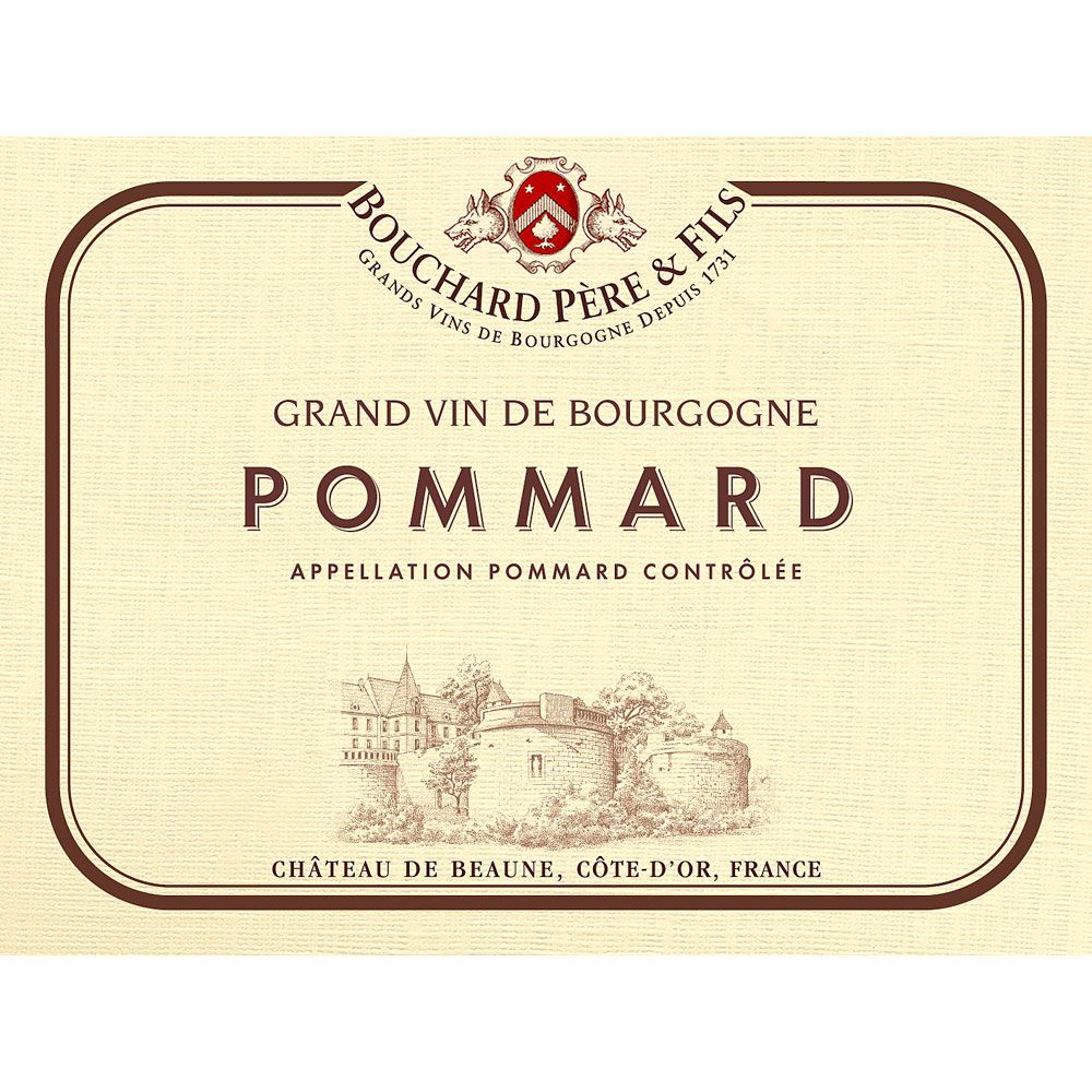 Bouchard Pere & Fils Pommard 2015 Front Label