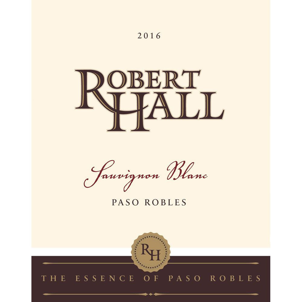 Robert Hall Sauvignon Blanc 2016 Front Label