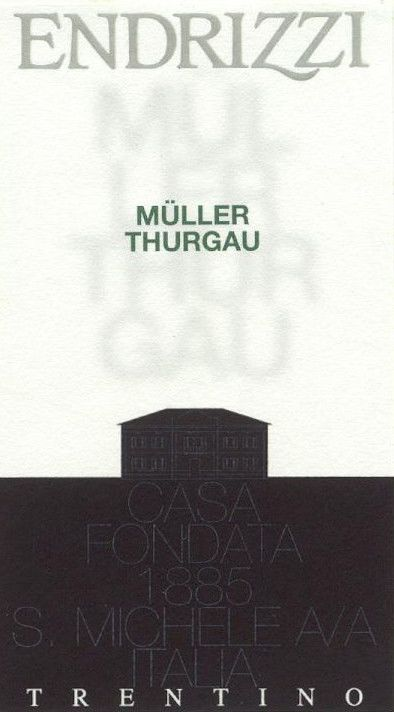 Endrizzi Trentino Muller Thurgau 2010 Front Label