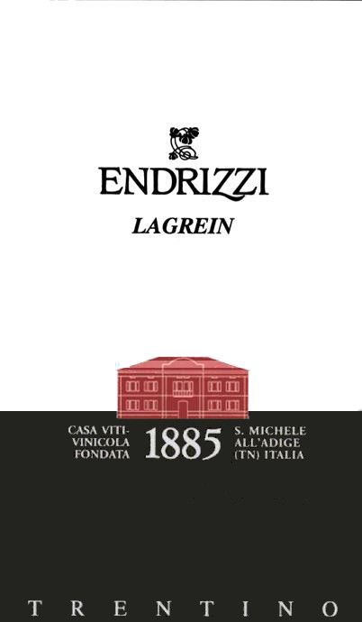 Endrizzi Trentino Lagrein 2010 Front Label