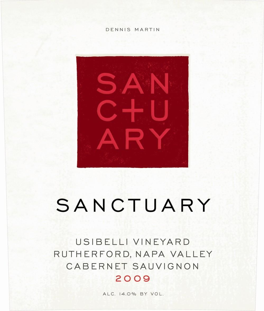 Sanctuary Cabernet Sauvignon 2009  Front Label