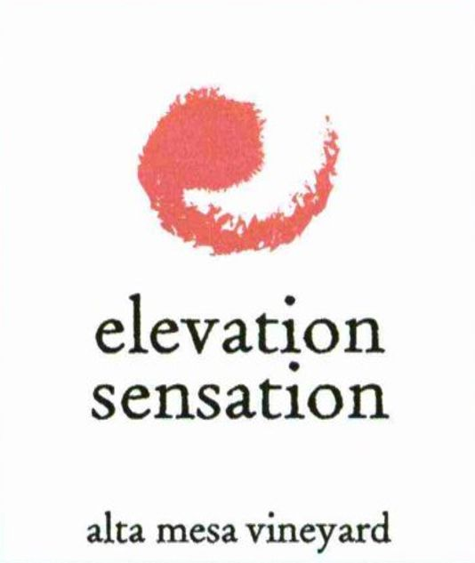 Core Alta Mesa Vineyard Elevation Sensation 2003  Front Label