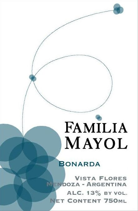 Familia Mayol Bonarda 2013 Front Label