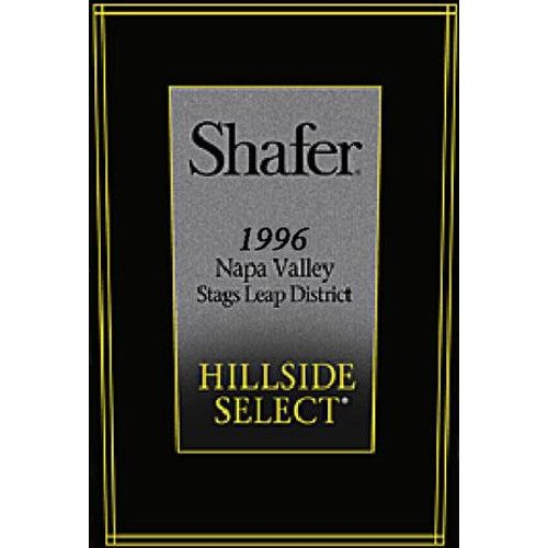 Shafer Hillside Select Cabernet Sauvignon 1996 Front Label