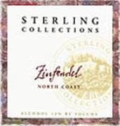 Sterling Zinfandel Collections 1996 Front Label