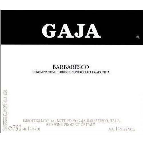 Gaja Barbaresco (1.5 Liter Magnum) 2012 Front Label