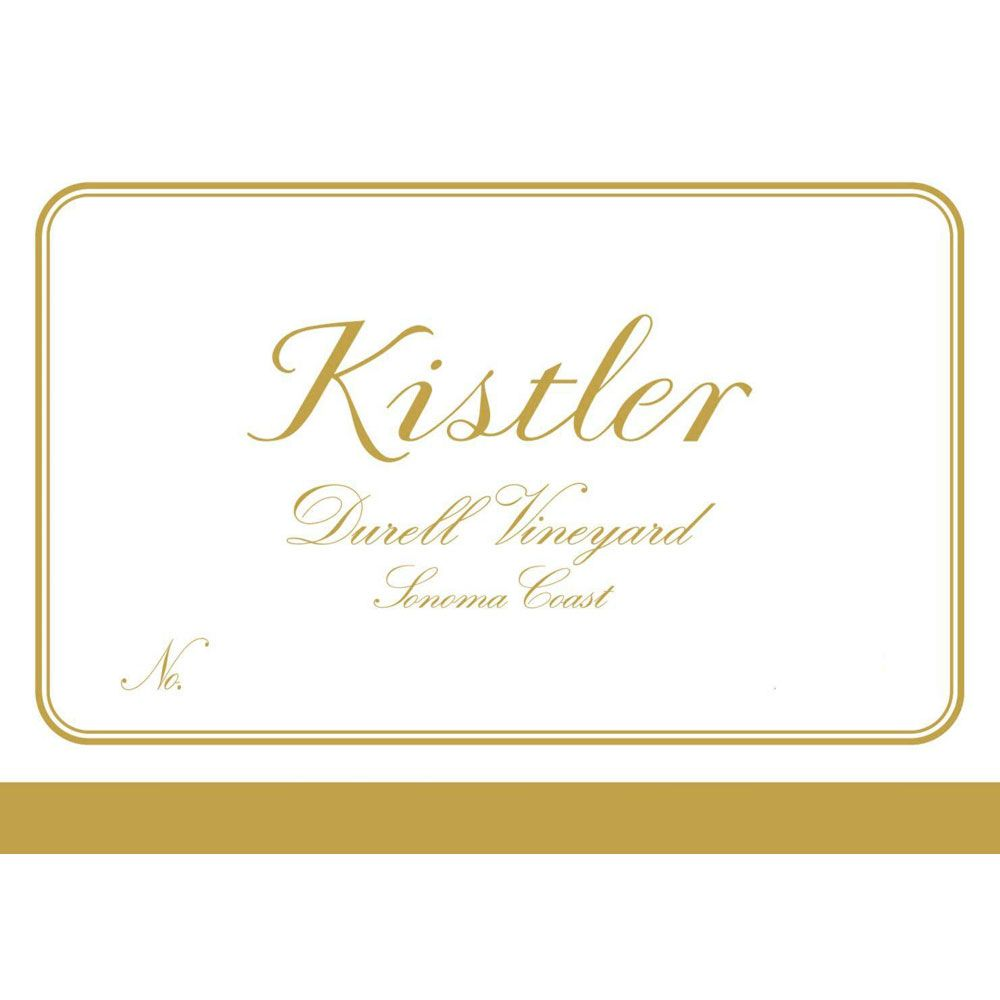 Kistler Vineyards Durell Chardonnay 2005 Front Label